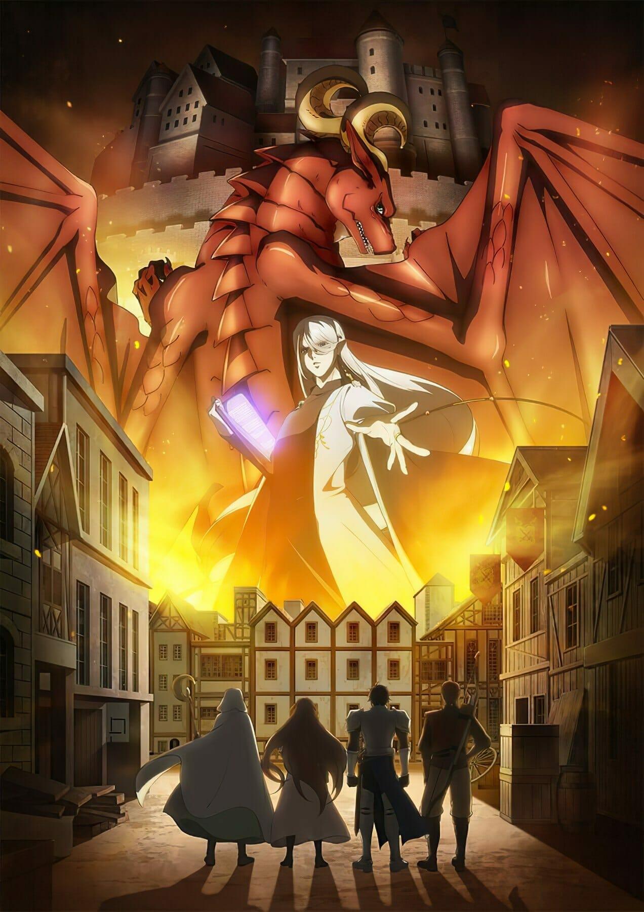 Премьера аниме «Дракон в поисках дома» состоится в апреле