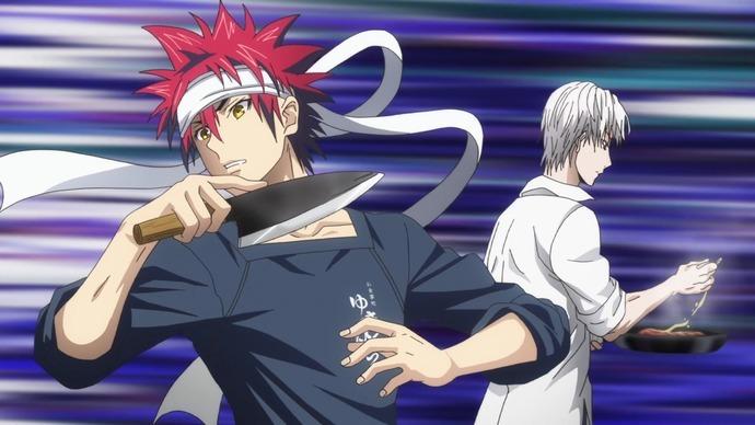 Четвёртый сезон аниме «В поисках божественного рецепта»
