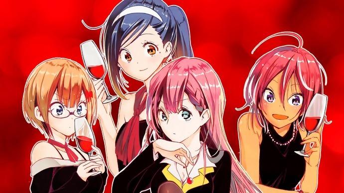 Второй сезон аниме «Мы не можем учиться!»