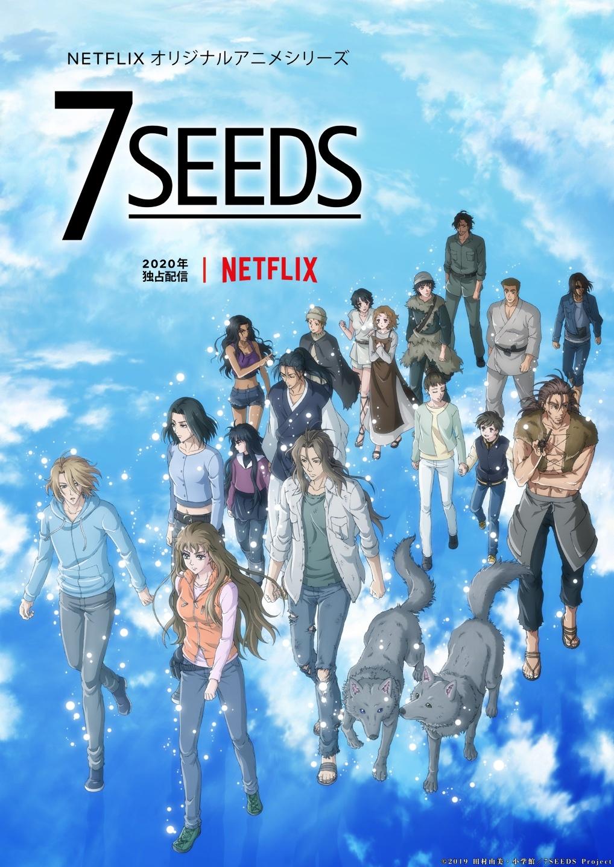 Представлен новый постер второго сезонасериала «7SEEDS».