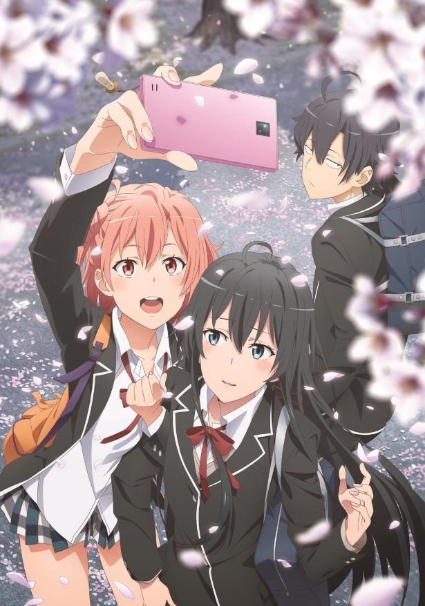 Представлен новый постер третьего сезона аниме «Как и ожидалось, моя школьная романтическая жизнь не удалась»