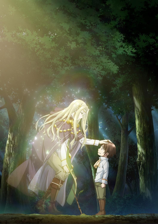 Новый постер аниме-адаптации ранобэ «Восьмой сын, я так не думаю!»