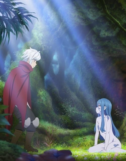Новый постер третьего сезона аниме «Разве плохо искать себе пару в подземелье?»